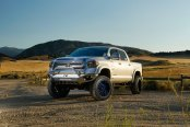 Fab Fours Does Its Magic to Silver Toyota Tundra