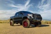 Toyota Tundra Mania: Lifted and with Custom LED Headlights