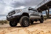 Innovative Creations Reworks Gray Lifted Toyota Tundra