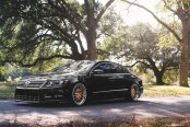 Elegant Black VW CC Slightly Transformed with Exterior Goodies