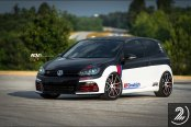 Custom Painted VW Golf Gets Upgraded Exterior Wise and Performance Wise