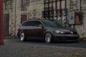 Nice and Clean - Lowered VW Jetta Station Wagon Fitted With Rotiform Rims