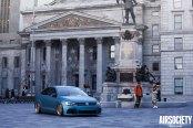 Blue on Gold: VW Jetta Wears Avant Garde Wheels