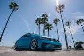 Custom Blue Paint Transforms Volkswagen Passat R with Style
