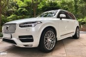 Stylish Transformation of White Volvo XC90