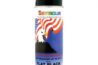 Install Bay® - Flat Spray Paint, Black, 10 Oz