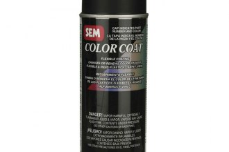 Install Bay® - SEM™ Color Coat Aerosol, Satin Black, 12 Oz