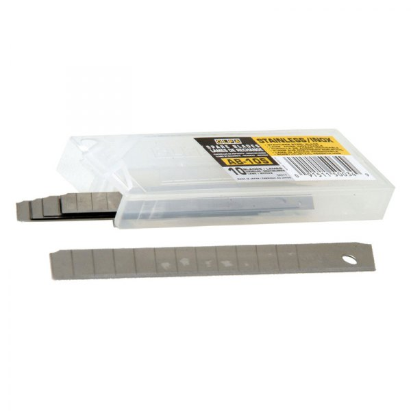 Install Bay® - Abs Stainless Blades, Pack of 10