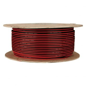 Install Bay® - Speaker Wire, Red-Black Paired, Coil of 100'