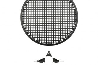 "Install Bay® - 15"" Waffle Speaker Grille with Hardware"