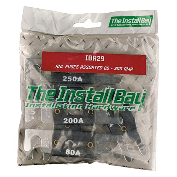 Install Bay® - 80/100/150/200/250/300 Amp Assorted ANL Fuses (6 Per Pack)