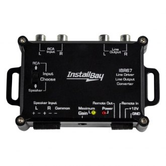Install Bay® - 2-Channel Line-Out Converter