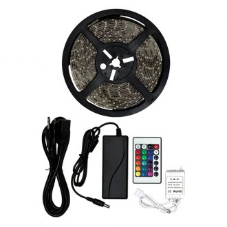 Install Bay® - Full Color Led Strip Lights with Controller and Power Supply, RGB