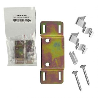 Install Bay® - Cable Type Door Lock Bracket, Pair