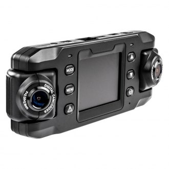 "Instant Proof® - Dual Dash Camera with 2.0"" Screen and GPS"