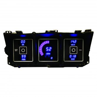 Intellitronix® - Direct Fit LED Digital Gauge Panel, Blue