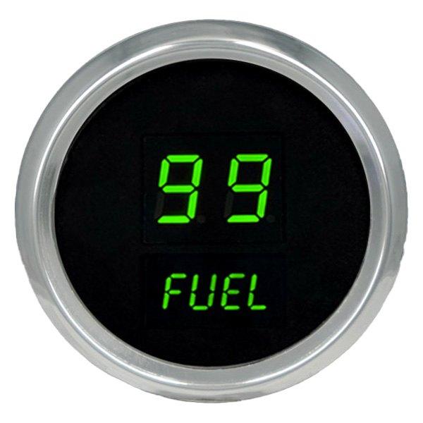 Intellitronix Led Digital Gauges : Intellitronix ms g led digital fuel gauge green