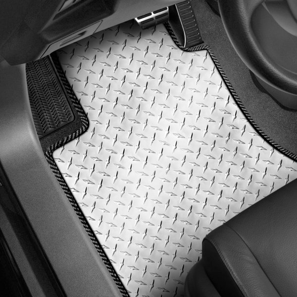 Intro-Tech® - 1st Row 2 Piece Diamond Plate Mat