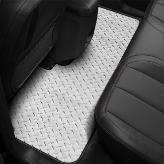 Intro-Tech® - Diamond Plate 2nd Row Floor Mat