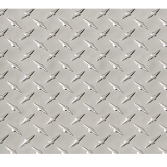 Intro-Tech® - Diamond Plate Deck Mat