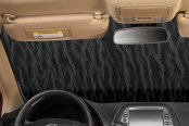 Intro-Tech® - Custom Gold Auto Shade™ Interior