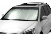 Intro-Tech® - Silver Honda Custom Auto Shade
