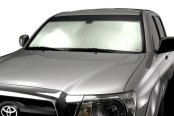 Intro-Tech® - Silver Toyota Custom Auto Shade