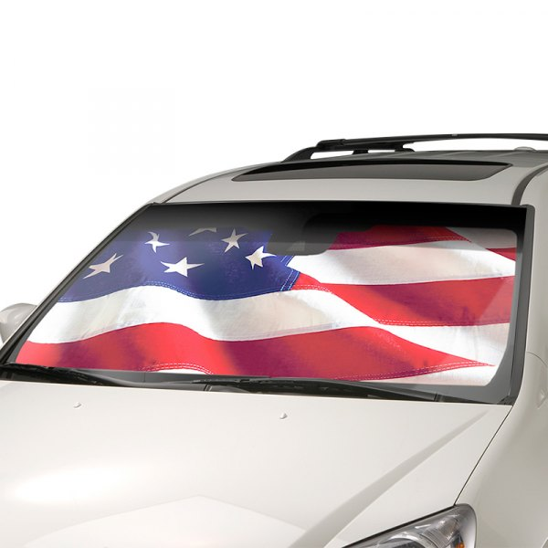 Intro-Tech® - USA Flag Sun Shade
