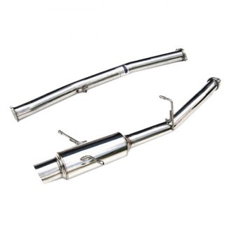 Invidia® - N1™ Stainless Steel Racing Cat-Back Exhaust System with Single Rear Exit