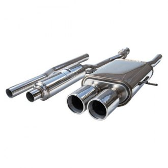 Invidia® - Q300 Stainless Steel Cat-Back Exhaust System with Stainless Steel Tip