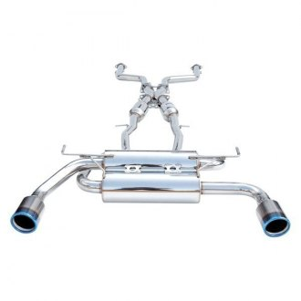 Invidia® - Gemini™ Stainless Steel Cat-Back Exhaust System with Split Rear Exit