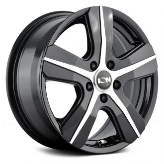 ION ALLOY® - 101 Black with Machined Face