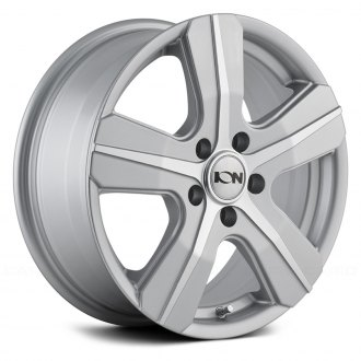 ION ALLOY® - 101 Silver with Machined Face