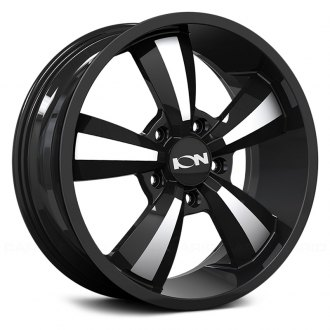 ION ALLOY® - 102 Black with Machined Face