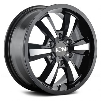 ION ALLOY® - 103 Black with Machined Face