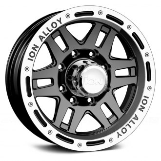 ION ALLOY® - 133 Black with Machined Lip