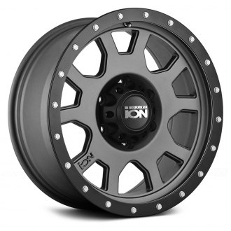 ION ALLOY® - 135 Matte Gunmetal with Black Beadlock