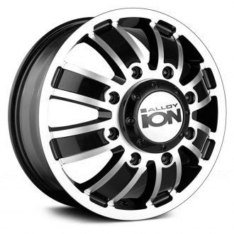 ION ALLOY® - 166 Matte Black with Machined Face