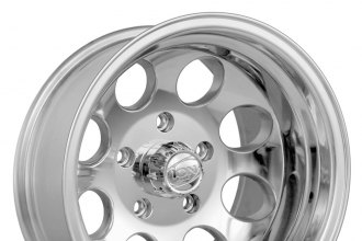 "ION ALLOY® - 171 Polished Silver (20"" x 9"", 0 Offset, 8x165.1 Bolt Pattern, 130.8mm Hub)"
