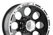 ION ALLOY® - 174 Black with Machined Flange