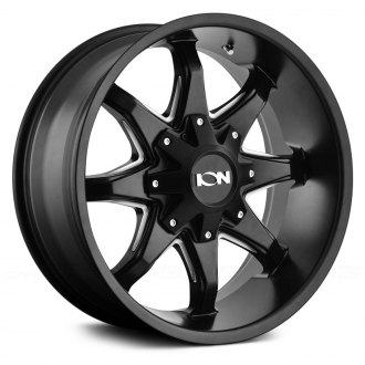 ION ALLOY® - 181 Satin Black with Milled Accents