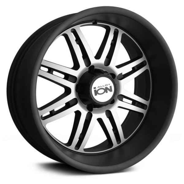 ION ALLOY® - 183 Matte Black with Machined Face