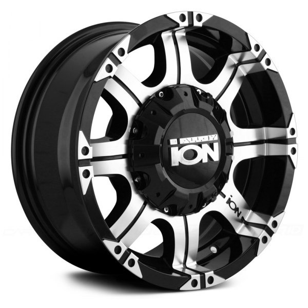 ION ALLOY® - 187 Black with Machined Face and Lip