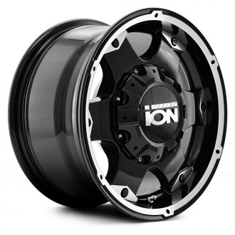 ION ALLOY® - 194 Black with Machined Face and Lip