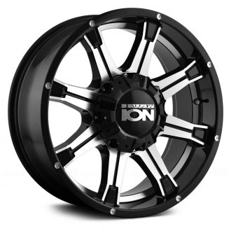 ION ALLOY® - 196 Black with Machined Face and Undercut