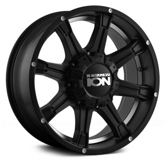ION ALLOY® - 196 Matte Black with Machined Undercut