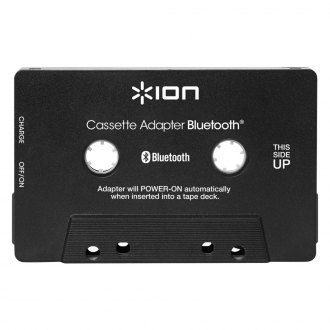 ION® - Cassette Adapter Bluetooth Music Receiver for Cassette Decks