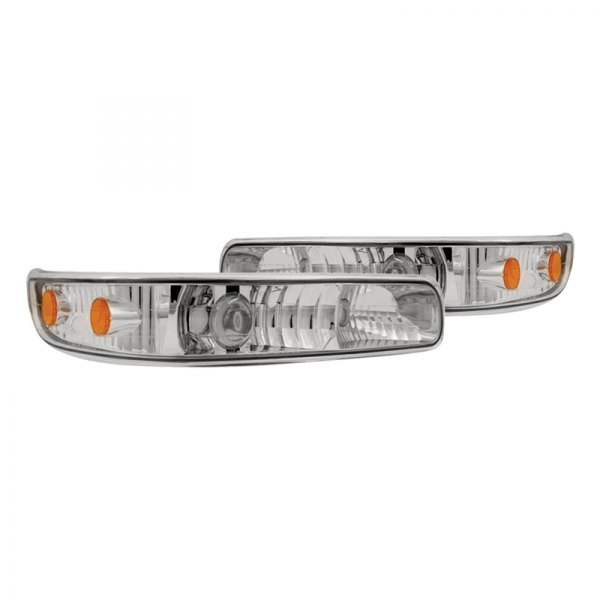 IPCW® - Chrome Euro Projector Bumper Lights