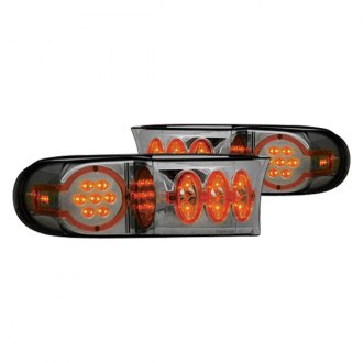 IPCW® - Chrome/Smoke LED Bumper Lights