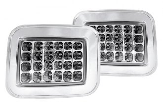 IPCW® - Chrome Euro Parking Lights with LEDs